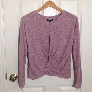 Juniors girls Poof cropped long sleeve size m